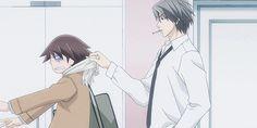 Junjou Romantica Akihiko Usami & Misaki Takahashi