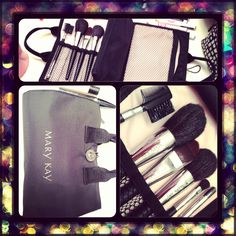 MK brush collection comes with 6 brushes and the cosmetic organizer bag with 2 additional pouches for all of your cosmetics! MK brushes have natural bristles to help allow even application of your color. These are the most amazing brushes I have ever used! Regular price $55. On special now until Sunday for $27.50. For anyone who buys cosmetics at the counters in the mall, you know what an amazing deal this is!  http://www.marykay.com/celisa.hinojosa Call or text 478-508-5992