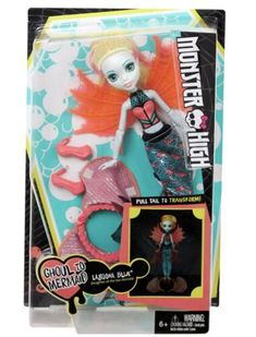 Monster High Ghoul to Mermaid Lagoona Blue Transformation Doll for sale online Aqua Outfit, Project Mc2, Picture Outfits, Blue Pictures, Dolls For Sale, Monster High Dolls, Doll Hair, Birthday Wishes, Purses And Handbags