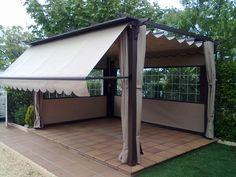 Cortinas de lona para exteriores google search pradera pinterest cortinas de lona lonas - Cortinas de lona para terrazas ...