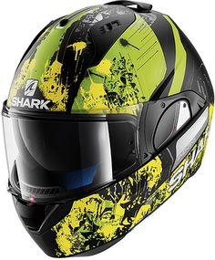 Shark Evo-One Falhout, casco modular Evo, Modular Motorcycle Helmets, Shark Helmets, Motorcycle Outfit, Bike, Inspired, Hard Hats, Sombreros, Profile