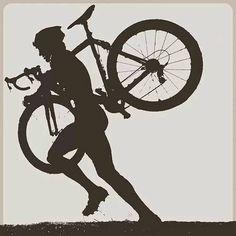 Hike-a-bike...there ain't no shame :)