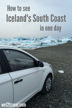How to see the Icelandic Coast in one day - from the falls to a glacier hike to the famous Jökulsárlón iceberg lake, on a drive from Reykjavik and your stopover in Iceland!