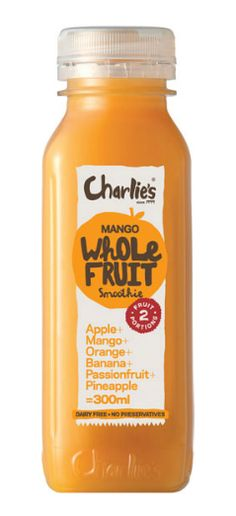 Charlie's-mango Whole Fruit smoothie wanna try this