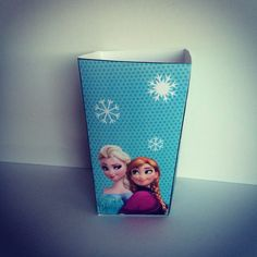 Frozen popcorn box