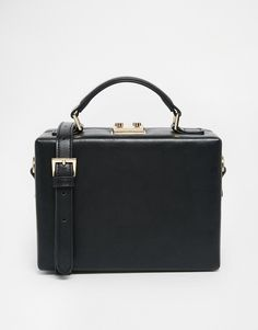 Pin for Later: This Is What Happened When Kate Bosworth Gave Up Crossbody Bags  Asos Structured Box Handheld Bag (£40)