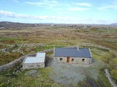 3 bedroom detached house for sale in `HOWIE COTTAGE` MURVEY, ROUNDSTONE, CO. GALWAY Detached House, Dream Homes, Irish, Cottage, Cabin, Bedroom, House Styles, Home Decor, Dream Houses