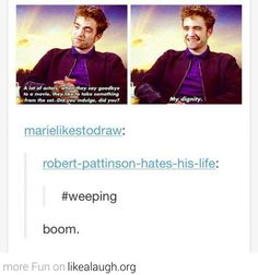 You can hate Twilight, but you can't hate him