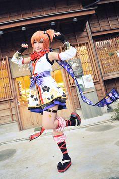 Momo(毛毛) Rin Hoshizora Cosplay Photo - Cure WorldCosplay