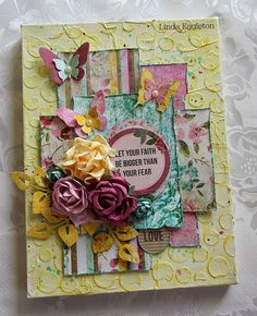 All About Scrapbooks - Kaisercraft, Be-you-tiful by Linda Eggleton