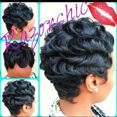 Awesome Beautiful Finger Waves And Fingers On Pinterest Hairstyle Inspiration Daily Dogsangcom