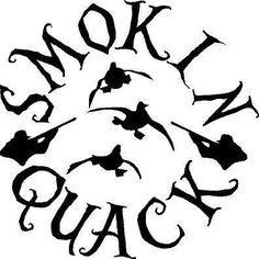 "Smokin Quack 23"" duck hunting sticker decal gun rifle truck bow car hunter hunt"