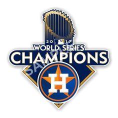Houston Astros World Series 2017 Champions Decal / Sticker Die cut #HoustonAstros