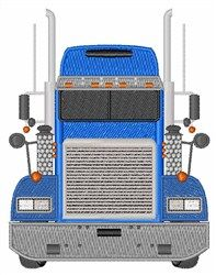Big Truck embroidery design from embroiderydesigns.com