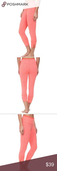 Prana Women's Tori Capri $79 NWT Two colors to choose from   FEATURES OF THE PRANA WOMEN'S TORI CAPRI Heather performance knit Elastic waistband Detail at leg hem Gusset for added comfort Classic rise -PRODUCT SPECIFICATIONS Primary Clothing Fabric:Nylon Gender:Womens Features:Bluesign Approved Best Use:Fitness, Yoga Fit Type:Slim Fit Pant Rise:High Fabric Details:92% Polyester / 8% Spandex Fabric Weight:6.78 oz / Square Yard Eco Friendly:Yes Prana Pants Capris
