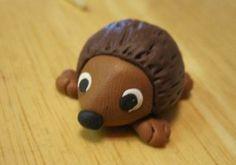 Creators Joy: How to make a Polymer clay Hedgehog