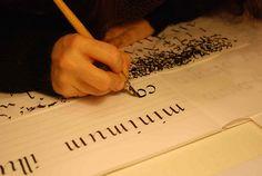 Italico, via Flickr. #calligraphy