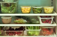 Sunday Night Prep to Eat Clean All Week - recipes and ideas from Green Plate Rule