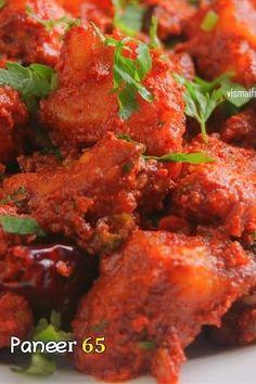 Spicy Vegetarian Recipes, Indian Veg Recipes, Paneer Recipes, Curry Recipes, Indian Food Vegetarian, Paneer Snacks, Veg Starter Recipes, Veg Manchurian Recipe, Paneer Dishes