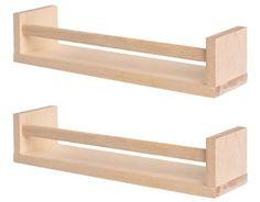 Ikea Bekvam Wooden Spice Rack/organizer In Birch (2-pack)