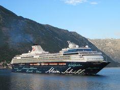 Mein Schiff in Bay of Kotor
