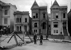 2213 Van Ness Avenue, San Francisco-After the 1906 Earthquake