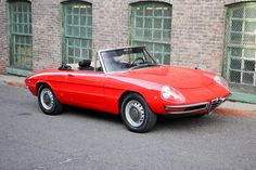 Alfa Romeo Spider - i have this car! Beaut <3