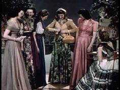 Vintage 1940's Fashion - Evening Dresses  OMG I LOVE THIS VIDEO CLIP !  i would love to see a fashion show done like this now !!