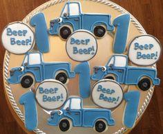 Little Blue Truck Cookies!
