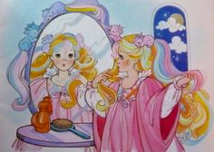 Lady Lovely Locks (character from my childhood. Loved her coloring books, and the doll, etc)