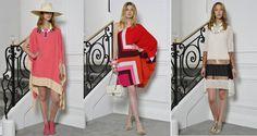 Los vestidos tipo túnica que presenta la nueva colección de Dior