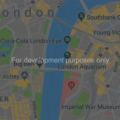 Placing multiple markers on a Google Map (Using API 3) | Young Vic, London Eye, Markers, Maps, Google, Sharpies, Marker, Map, Peta