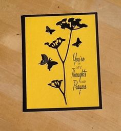 Tim Holtz Wildflower die cut is covered with Wink of Stella which doesn't show in the photo