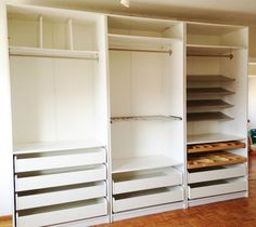 1000+ images about walkincloset on Pinterest  Ikea pax ...