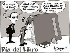 Hoy Día del Libro, pero con humor. | Matemolivares