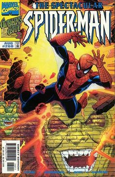 Peter Parker, The Spectacular Spider-Man # 260 by John Romita