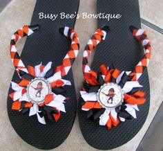 Baseball+Themed++Baltimore+Orioles+Decorative+by+Busybeesbowtique,+$18.00