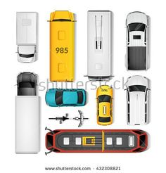 stock-vector-city-transport-top-view-icons-set-isolated-vector-illustration-432308821.jpg (450×470)