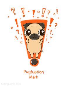 Pugxclamation point! | Kicking Cones
