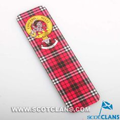 Little Clan Crest and Tartan Bookmark