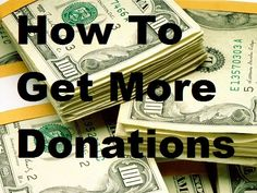 """Fundraiser Help: How To Get More Donations - In all types of fundraising you are essentially making a donation request. So, what do you say or do to get more donations for your cause?  Answer one simple question: """"How will my donation change the world?"""" More donation letters here: www.Fundraiserhelp.com/letters/"""
