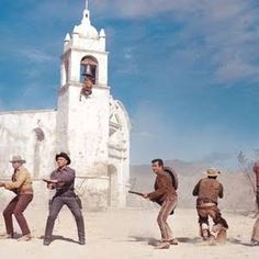 Return of the Magnificent Seven - Burt Kennedy, Patrick Tarrant The Magnificent Seven, Western Film, Cowboys And Indians, Great Movies, Mount Rushmore, Westerns, It Cast, Dj, Movies