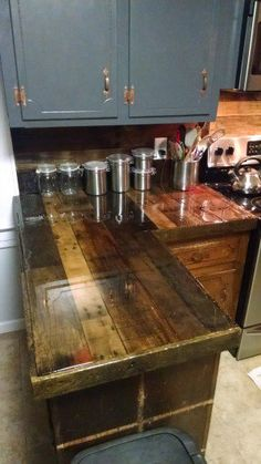 Kitchen Cabinets From Pallets design your own pallet wood kitchen cabinets | pallet designs