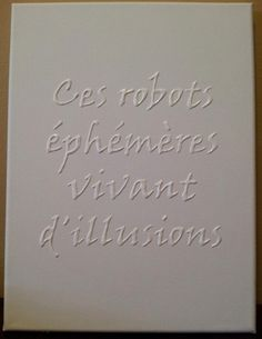 CUSTOM 3D Quote on 11x14 Canvas by SubtleWords on Etsy, $20.00