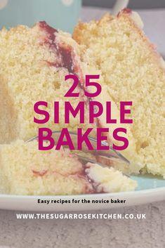 Easy Baking Recipes, Simple Recipes, Baking Tips, Cookie Recipes, Yummy Treats, Sweet Treats, Cow Cakes, Deli Food, Classic Cake
