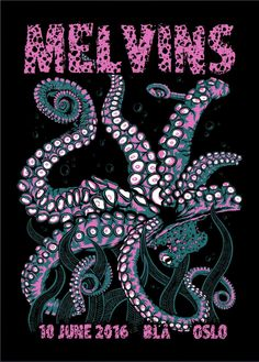 Melvins by Subterranean Prints