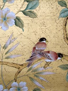 Chinoiserie Chic: Metallics at Paul Montgomery Studio