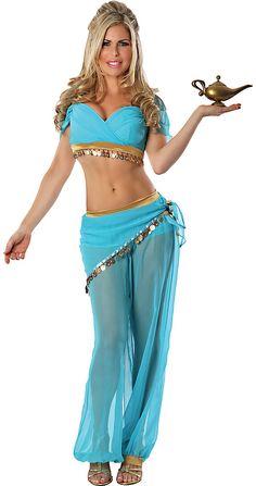 Delicious Women's Arabian Nights Sexy Costume #arabiannights #sexycostumes