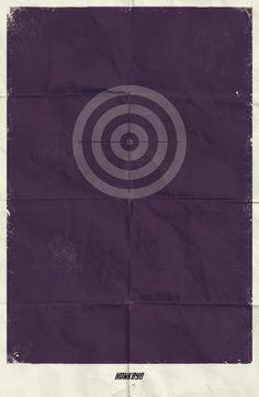 Posters Minimalistas Marvel - Assuntos Criativos