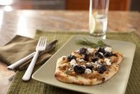 Photo of Pizzettas with California Dried Plums & Caramelized Onions
